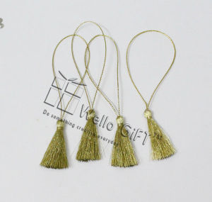 Metallic Gold Tassel for Gift Decoration pictures & photos