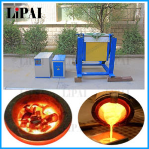 High Frequency Induction Heating Machine Mini Melting Furnace pictures & photos