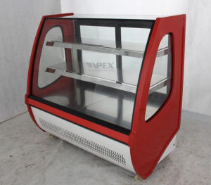 New Style Apex Electirc Cake Showcase Display Cooler Wtih LED Lighting pictures & photos