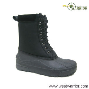 Full Leather Ankle Snow Boots for Women (WSB019) pictures & photos