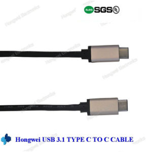 USB 3.1 C to Type C Cable pictures & photos