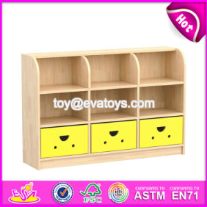 High Quality Kids Bedroom Furniture Natural Wood Small Storage Cabinet W08c206 pictures & photos