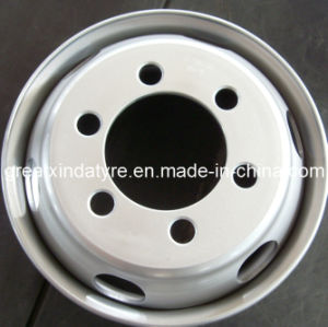 Semi Truck Steel Wheel (17.5X5.25 17.5X6.00 17.5X6.75) pictures & photos