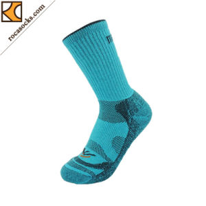 Light Green Merino Crew Socks of Women (162030SK) pictures & photos