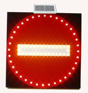 Solar Traffic Signal Light (HNSS-FB02)