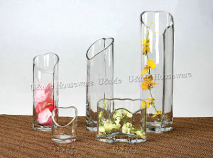 Heart Glass Vase (HV9966, HV9967, HV9968)