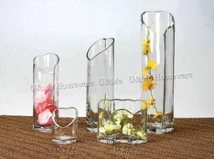 Heart Glass Vase (HV9966, HV9967, HV9968)