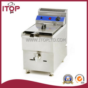 Commercial Gas Deep Fryer with Valve (PGF) pictures & photos