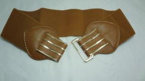 Lady Elastic Fashion Belt with 7cm Width