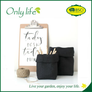 Onlylife Reusable Jute Fabric Planter pictures & photos
