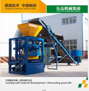 Qt4-26 Small Scale Brick Making Machine Production Line pictures & photos