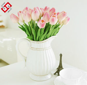 Wholesale Fake High Quality Artificial Flower Home Decor PU Tulip