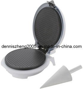 Electric Waffle Cone Maker Ice Cone Maker with Cone Form pictures & photos