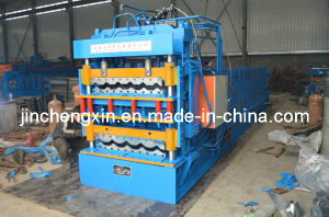 China Supplier Double-Layer Tile Forming Machine pictures & photos