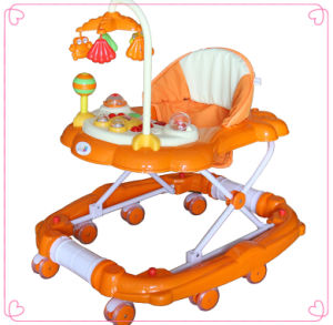 Zhejiang Cute Design Baby Walker with Music pictures & photos