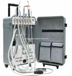 High Volume Suction Portable Dental Units with Curing Light and Scaler (OSA-1041) pictures & photos