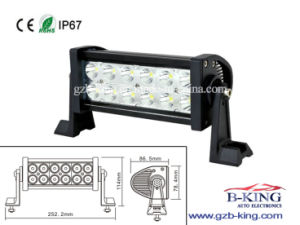 IP67 7.5 Inch 36watts Spot Flood LED Bar (BK-B236) pictures & photos