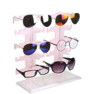 Wholesales Customized Double Row Acrylic Sunglasses Display Rack pictures & photos