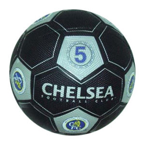 Pebble Surface Rubber Soccerball Football pictures & photos