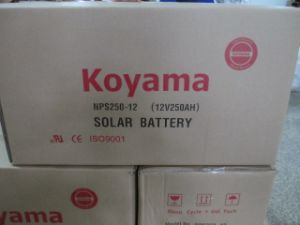 250ah 12V Solar Power Battery Deep Cycle Gel Battery pictures & photos