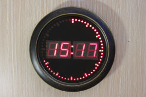 Round Digital LED Display Clock (ZT-049C-2) pictures & photos