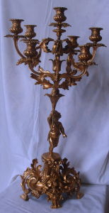Bronze Candle Stand (SLT-32A) pictures & photos