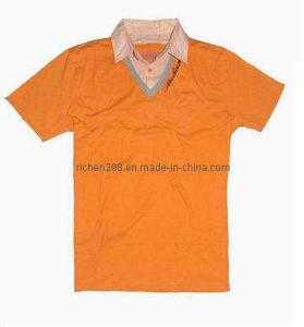 Men′s Cotton Polo T Shirt