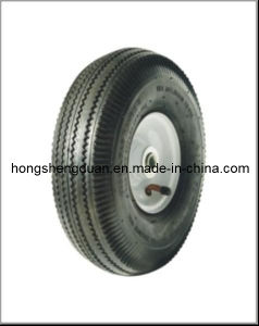Rubber Wheel (350-4) pictures & photos