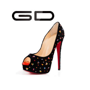 Gdshoe Ladies Sexy Platform High Heel Sandals Shoes pictures & photos