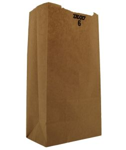 Brown Kraft Paper Lunch Sack, Recycled Bag pictures & photos