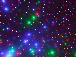 LED Christmas Star Curtain Light with CE pictures & photos