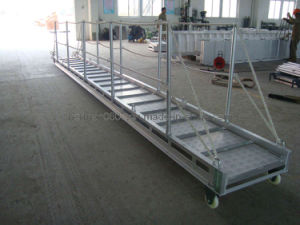 Marine Bridge Aluminum 6m Gangway, Wharf Ladder, Embarkation Ladder pictures & photos