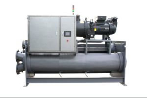 Direct Sales High Efficient Flooded Type Screw Style Chiller pictures & photos