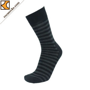 Men′s Merino Wool Stripes Crew Socks (163014SK) pictures & photos