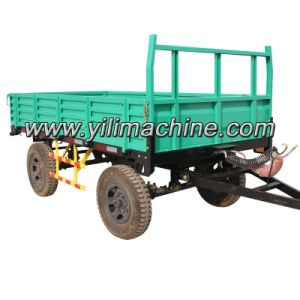 4WD 3 Ton Farm Trailer with Tractors pictures & photos