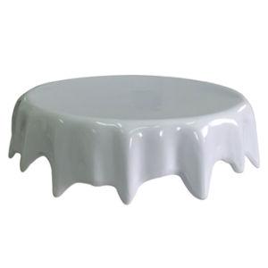 Melamine Round Platter/Cake Plate Pedestal /Plate (WT13812-07) pictures & photos