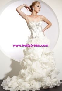 White Wedding Dress&Wedding Gown&Bridal Dresses (KB2007)