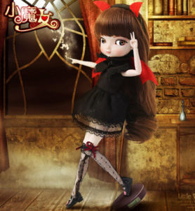 Big Eyes Girls Dolls Spherical Joints Doll BJD Toy Ball Joint Dolls pictures & photos
