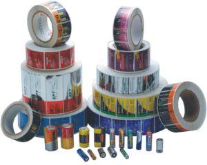 Battery Sticker, Battery Label