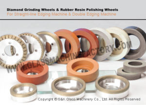 China Competitive Glass Edging Diamond Wheel for Polishing pictures & photos