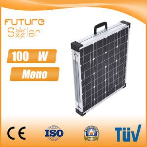 Futuresolar Folding 50W*2 Mono Solar Sun Panel High Efficiency pictures & photos