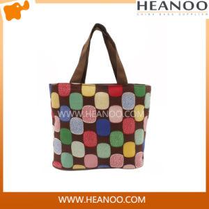 China Manufacturer Women Polyester Random Color Shopping Handbag Bag pictures & photos