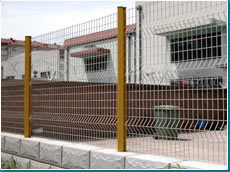 Residential Area Fence (PVC or Galvanized Coated)