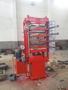 (rubber tile making) Plate Rubber Vulcanizer pictures & photos