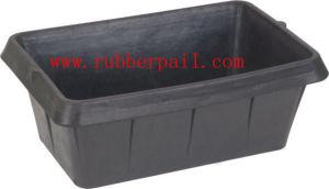 Rubber Pail, Rubber Bucket, Rubber Tank, Rubber Feeder Bucket(5604)