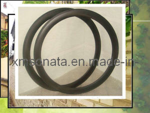 Bike Rim With 3k/Ud Finish, 50mm/60mm (WH-R50CF-C-3K)