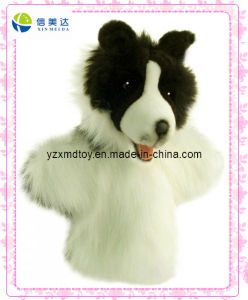 High Quality Dog Plush Puppet (XDT-0131) pictures & photos
