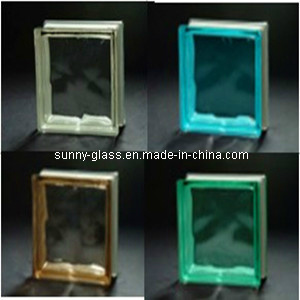Clear or Colored Glass Block-Glass Brick for Wall pictures & photos