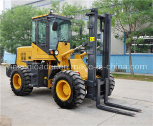 2 Ton off-Road Forklift (YN625) pictures & photos