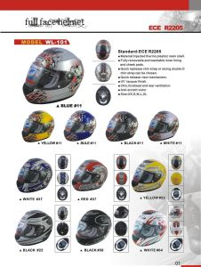 Full Face Helmet (WL-101)
